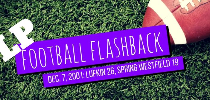 LP Football Flashback west