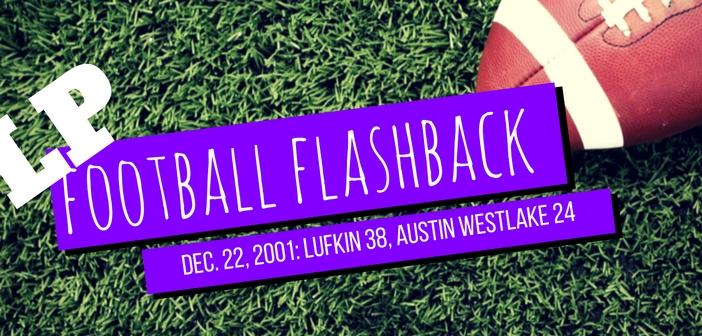 LP Football Flashback westlake